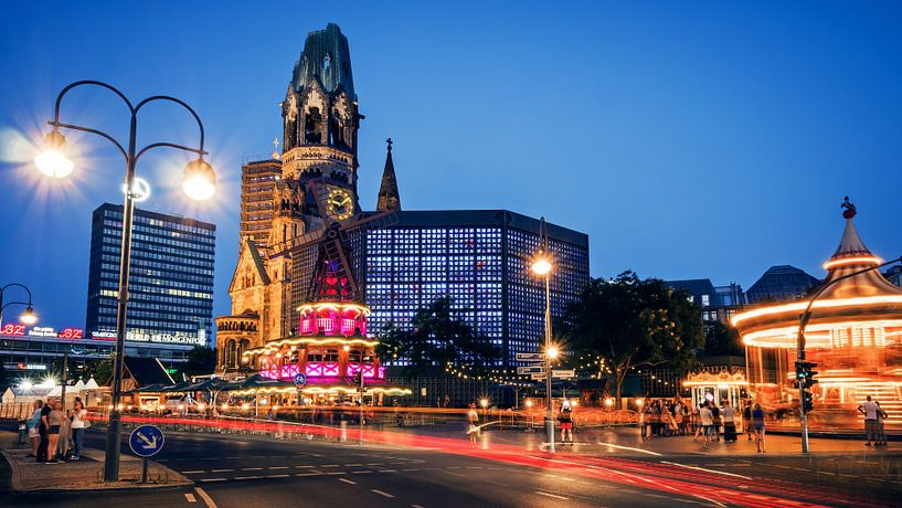 Berlin – City West / Breitscheidplatz van Alexander Voss