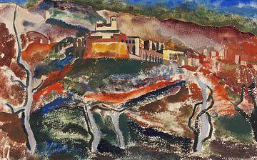 Assisi, JOSEF EBERZ, 1920 van Atelier Liesjes