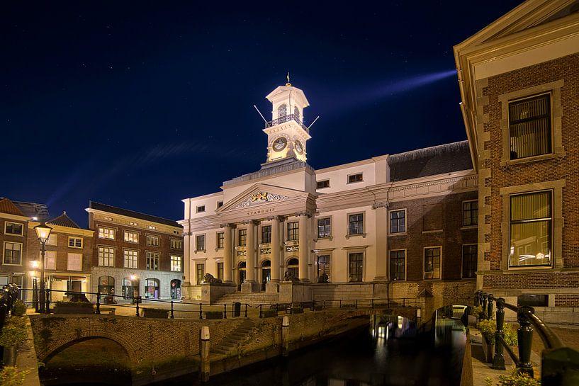 Gevel Stadhuisplein Dordrecht van Peter Bolman