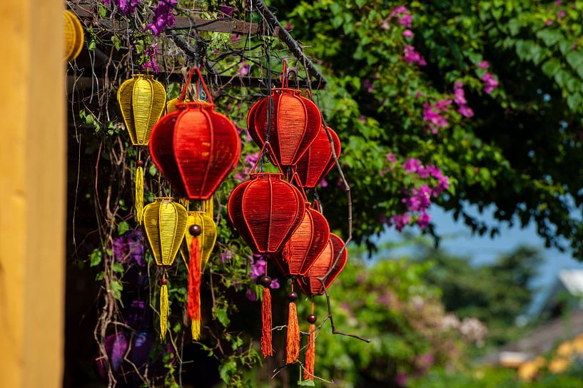 Lampionnen in Hoi Ahn van Sebastiaan Hamming