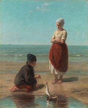 Enfants de la mer, Jozef Israëls sur