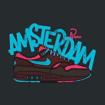 "Nike Air Max 1 ""Parra Amsterdam"" von Pim Haring"
