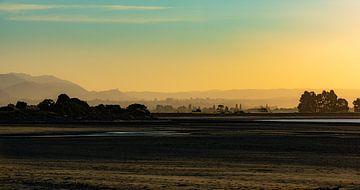 Zonsondergang, Nelson, Nieuw-Zeeland - I van Jelle IJntema