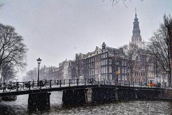 Amsterdam Winter Kloveniersburgwal