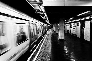 London Metro van Mark de Weger
