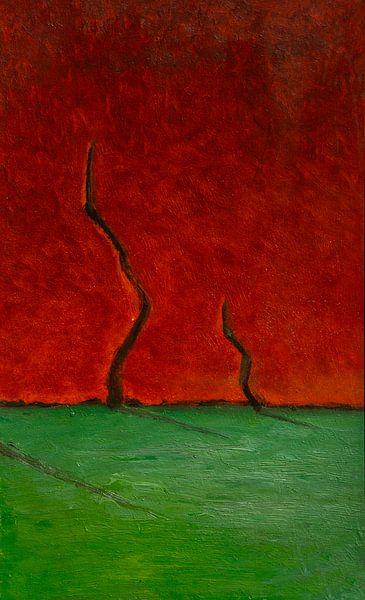 Horizon Compositie #3 van Sander Veen