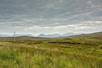 Landschaft und Küste Connemara in Irland von Tjeerd Kruse