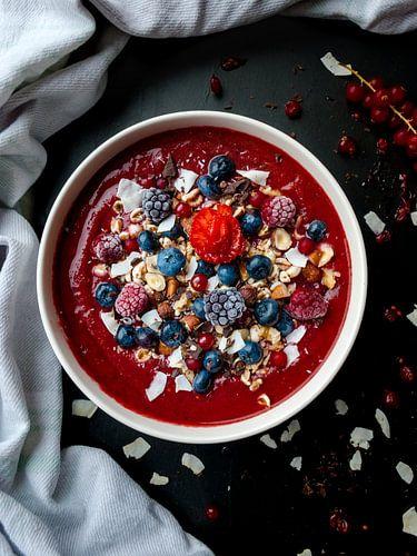 Smoothie bowl als ontbijt van Veerle Verhoeven