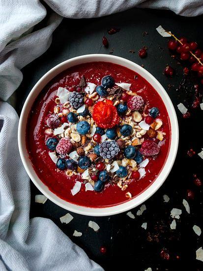 Smoothie bowl als ontbijt