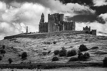 The Rock of Cashel in zwart-wit van Henk Meijer Photography