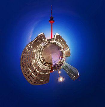Planeet Berlijn Alexanderplatz van Frank Herrmann