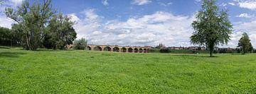 Moulins rivierbank sur