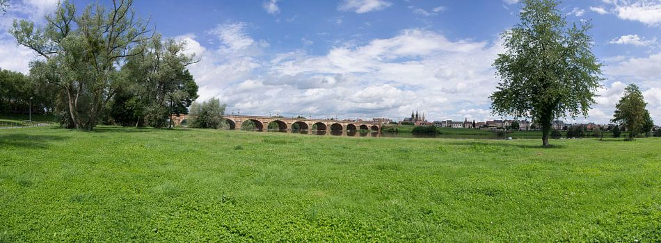 Moulins rivierbank