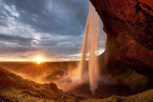 Seljalandsfoss Sunset