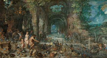 Feuer, Jan Brueghel der Ältere