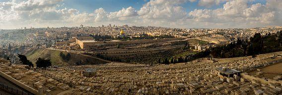 Panorama van Jeruzalem