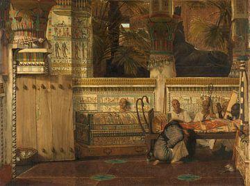 Die ägyptische Witwe Lourens Alma Tadema, 1872.