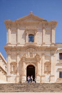 Franziskanerkirche Chiesa di San Francesco d'Assisi all' Immacolata, Noto, UNESO Weltkulturerbe, Val