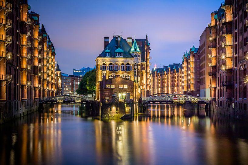 Wasserschlößchen - Hamburg von Holger Debek
