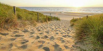 Zand, zee en zon aan de Katwijkse kust van Dirk van Egmond