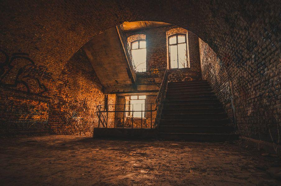 De vergulde trappenhal