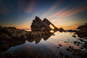 Fiddle Rock sunrise van