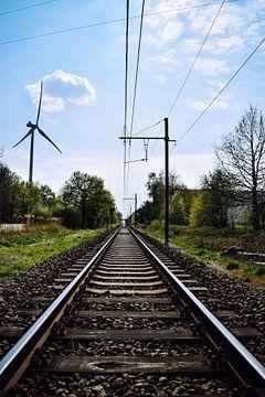 Railroads van Gina Peeters Fotografie