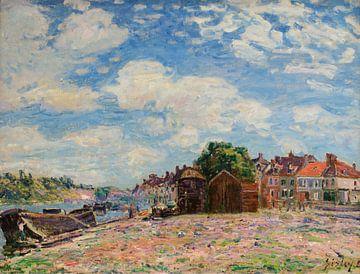 Der Loing in Saint-Mammès, Alfred Sisley
