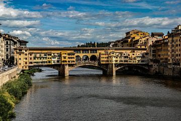 Florence, Ponte Vecchio van Jan-Willem Kokhuis