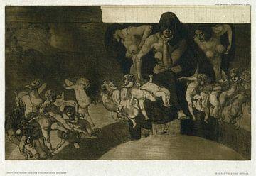 Nacht und Träume, rudolf jettmar - 1907 von Atelier Liesjes