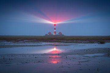 Westerhever Leuchtturm von Martin Wasilewski