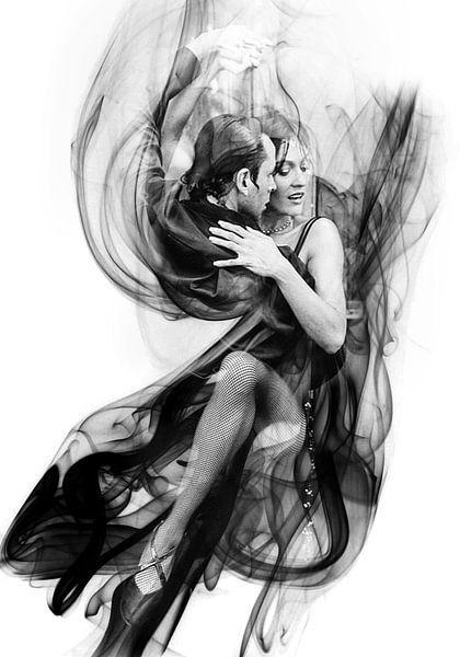 Dansend Tango paar van Sarah Richter