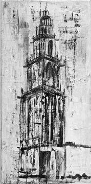 Groningen Martinitoren van
