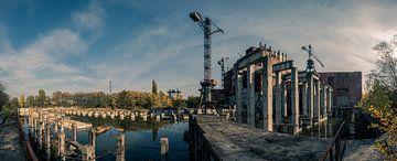 Niet afgebouwde eenheid 5 van de kerncentrale van Tsjernobyl van Robert Ruidl