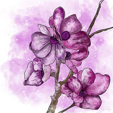 Blumenmotiv - Sakura Kirschblüte