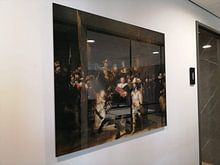 Photo de nos clients: La Garde de nuit, Rembrandt van Rijn, sur aluminium