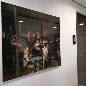 Kundenfoto: Die Nachtwache, Rembrandt van Rijn von Rembrandt van Rijn, auf acrylglas