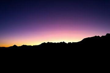 Sonnenaufgang in den Bergen von Willemijn1712
