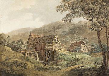 MAX JOSEPH WAGENBAUER, Sägemühle, 1815 von Atelier Liesjes
