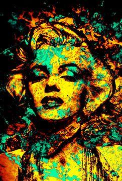 Marilyn Monroe  von Alice Berkien-van Mil