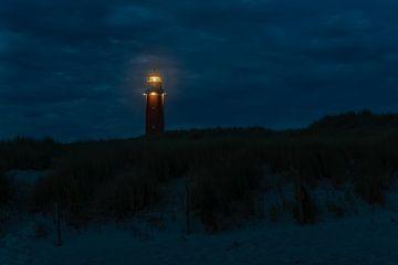 Leuchtturm auf Texel von Joop wollendorf