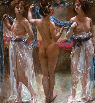 Lovis Korinth, Drei Grazien - 1904 von Atelier Liesjes