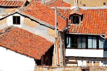 De daken van Astorga van