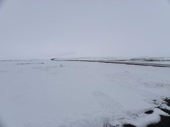 Sneeuw van Henk Rabbers