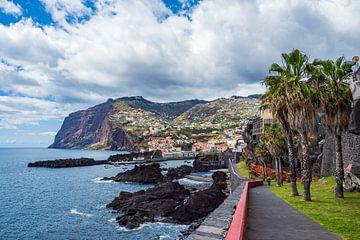 Blick auf Camara de Lobos auf der Insel Madeira von Rico Ködder