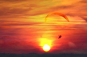Paraglider van Irene Lommers