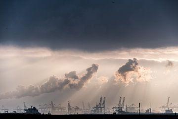 Maasvlakte, Rotterdam / Hoek van Holland von Eddy Westdijk
