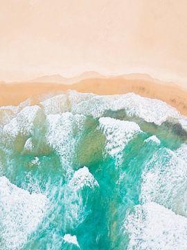 Strand & Oceaan (poster) van Droninger