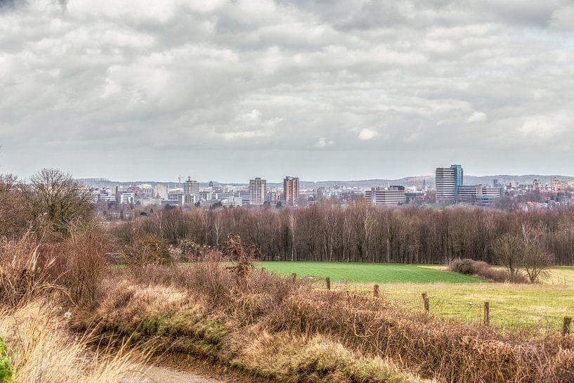 Skyline van Heerlen van John Kreukniet