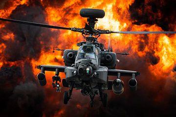 Gevaarlijke helikopter van Kris Christiaens